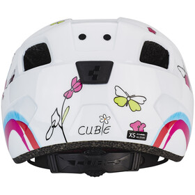 Cube Pebble Helm Juniors white cubie
